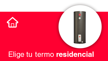 elige termo residencial rheem calentadores agua rheemchile chile